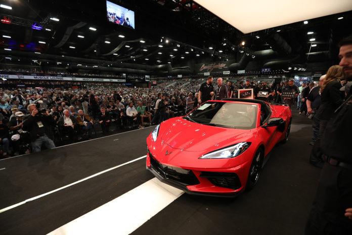 Dette er en av de aller dyreste Corvettene i historien. (Alle foto: GM)