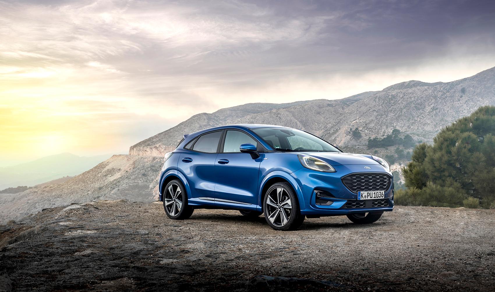 Snart kan vi også høre brølene fra Fords Puma på norske veier. (Alle foto: Ford)