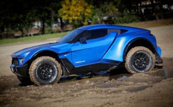 Laffite G-Tec X-Road er en ganske så vill SUV. (Alle foto: Laffite)
