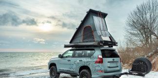 Dette er en Lexus med et telt på taket. Jepp. (Alle foto: Lexus)
