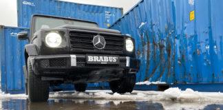 På jakt etter et skikkelig terrengmonster? Her er en, nemlig Mercedes G 500 Brabus. (Alle foto: Nybiltester)