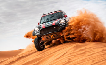 Mini med Carlos Sainz på innsiden vant årets Dakar-rally. (Alle foto: Mini)
