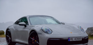 Dette er den nye Porsche 911. (Alle foto: Nybiltester)