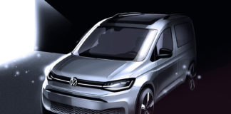 Her er en splitter ny Volkswagen Caddy. (Begge foto: VW)