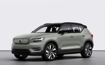 Det åpnes nå for bestilling av Volvos kommende elbil, XC40 Recharge Pure Electric. (Alle foto: Volvo)