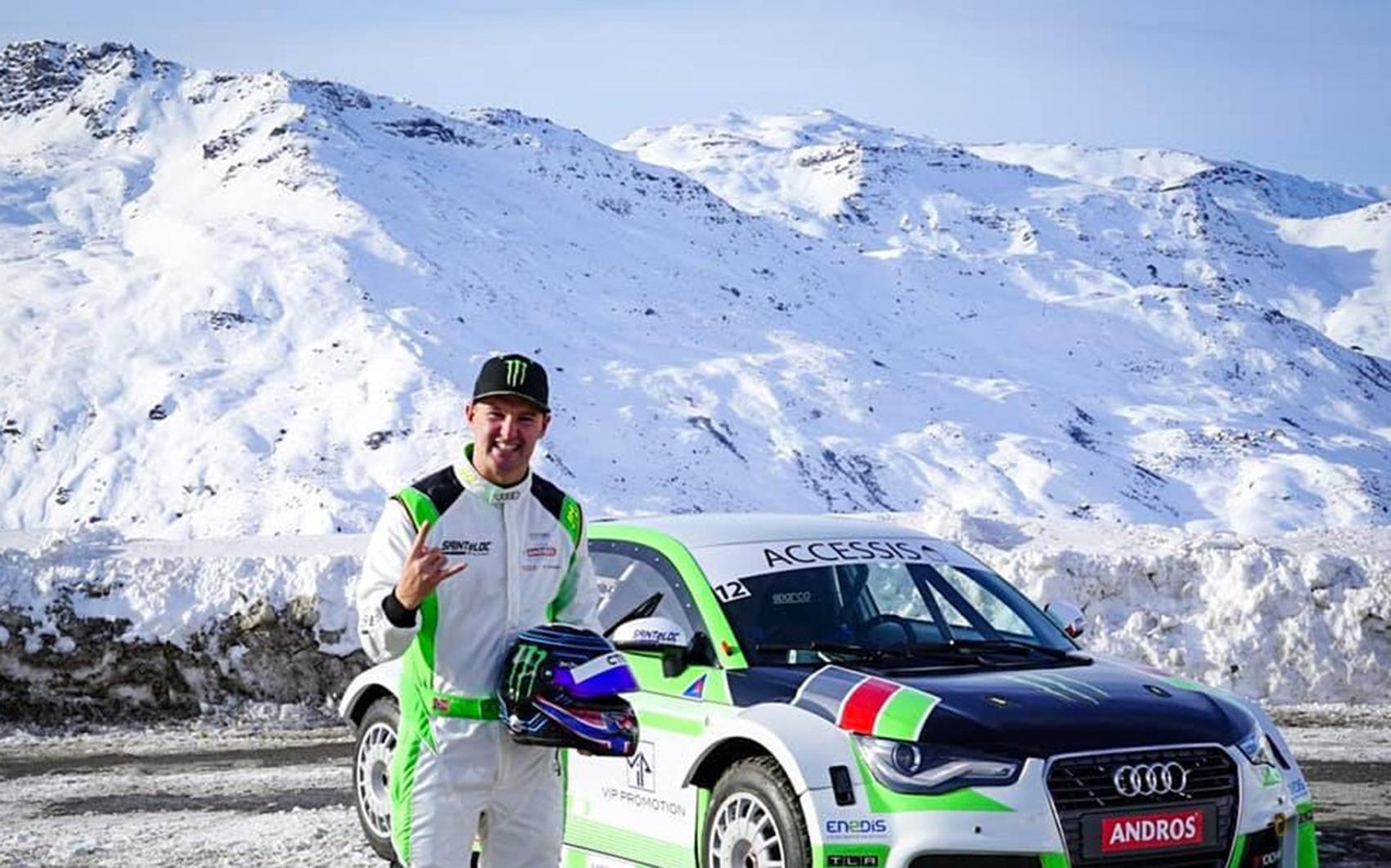 Andreas Bakkerud er aktuell som en av førerne til den helelektriske racingserien Extreme E. (Alle foto: Continental/Extreme E)