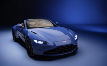 Aston Martin Vantage Roadster har verdens raskeste tak. Og selvsagt er den vakker. (Alle foto: Aston Martin)