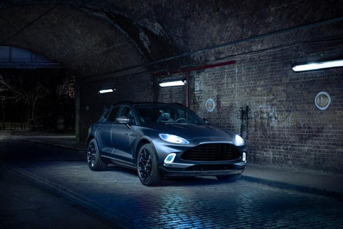 Aston Martins q-avdeling har pimpet opp den kommende SUV-modellen DBX, og den ser unektelig bra ut. (Alle foto: Aston Martin)