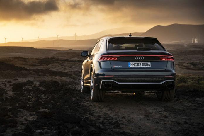 Audi åpner snart for bestilling av fartsmonsteret RS Q8, og har gitt den en prislapp. (Alle foto: Audi)