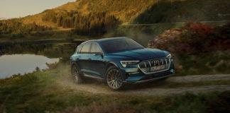 Audi e-tron var den mest populære bilen i januar, og dermed også så langt i 2020. (Begge foto: Audi)
