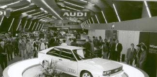 Audi kom med quattro for akkurat 40 år siden. (Begge foto: Audi)