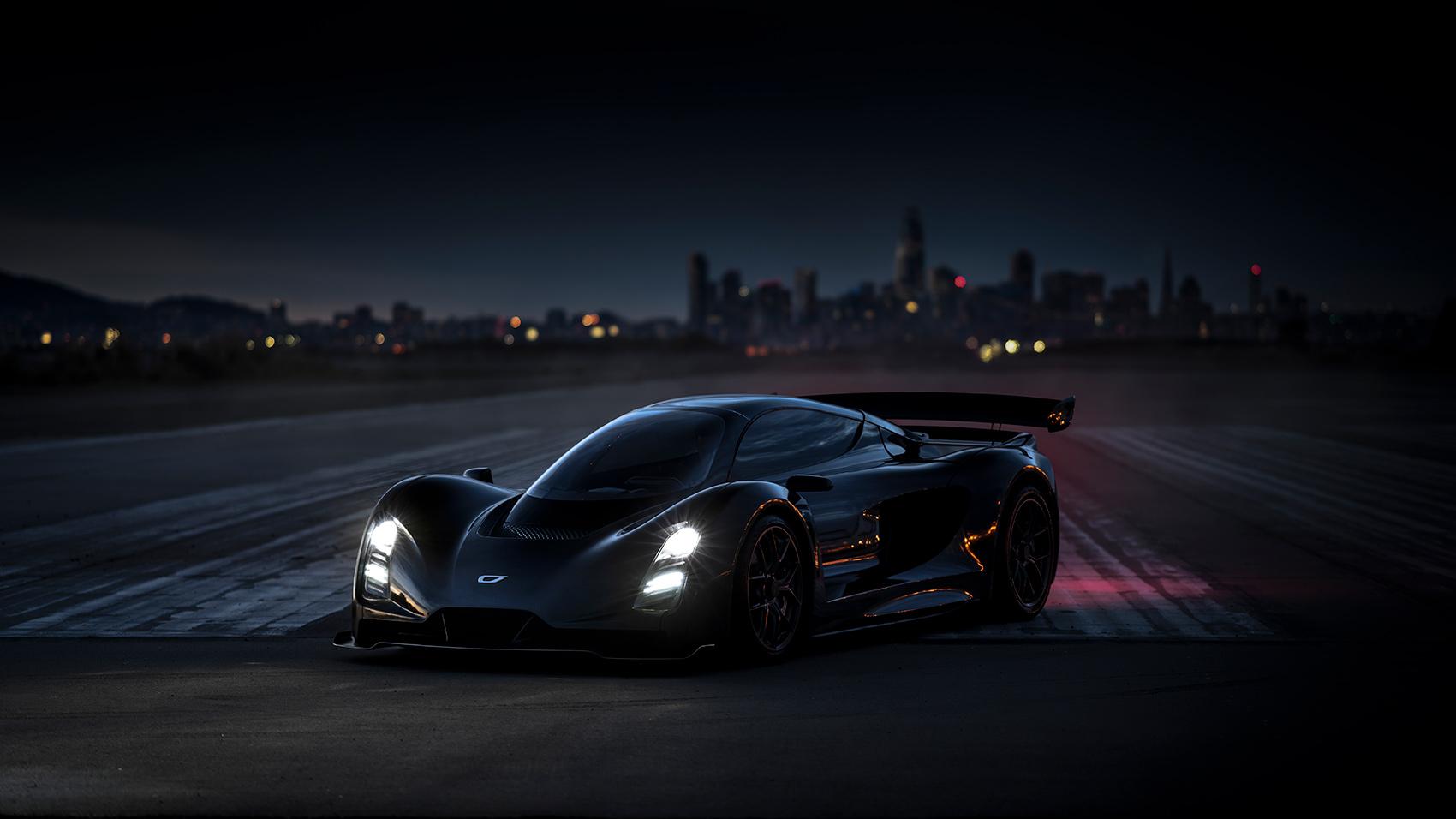 Denne bilen skal klare 0-100 km/t på under 2 sekunder. (Alle foto: Czinger)