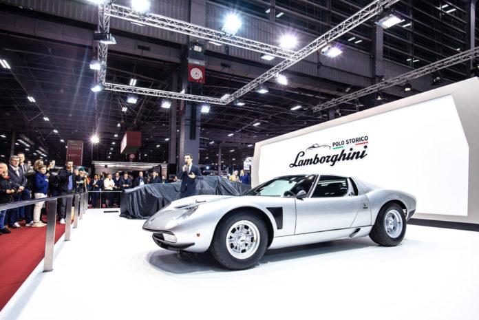 Dette er en veldig sjelden Lamborghini, og sjelden vakker er den og. (Alle foto: Lamborghini)