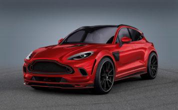 Om, mot formodning, en original Aston Martin DBX ikke er nok, kan Lumma by på denne. (Alle foto: Lumma)