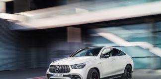 Mercedes har på gang en ny versting-SUV, AMG GLE 63 S Coupé. (Alle foto: Mercedes)
