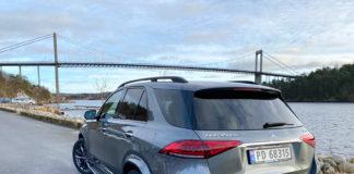 Mercedes GLE 350 de er en imponerende bil. (Alle foto: Nybiltester)