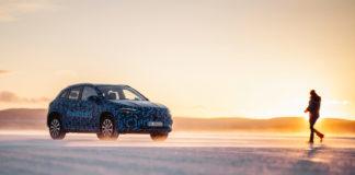 Mercedes har på gang en ny elbil, EQA. (Alle foto: Mercedes)