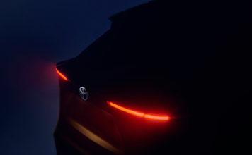 Slik er bakparten på den kommende SUV-modellen til Toyota. (Alle foto: Toyota)