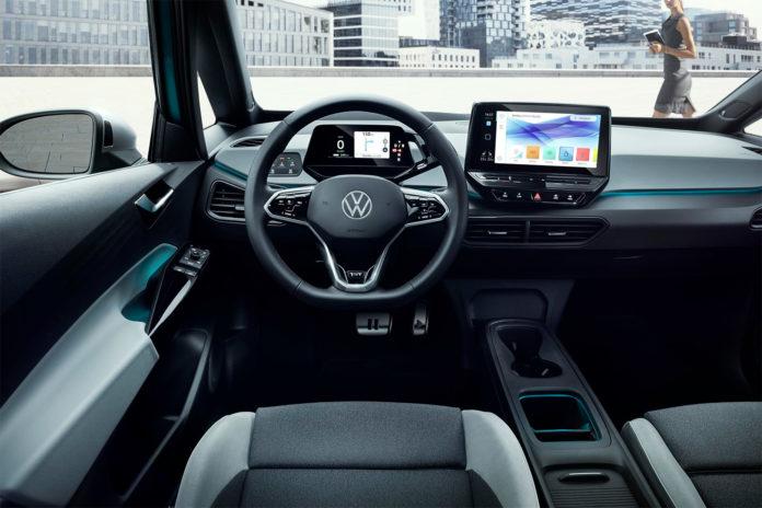 Elbilene har normalt ikke flere enn ett gir, og ID. 3 er intet unntak. (Alle foto: VW)