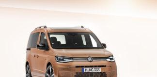 Volkswagen har klar 5. generasjon av Caddy. (Begge foto: VW)