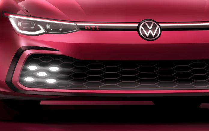Volkswagen har selvsagt klar en langt mer sportslig versjon av den nye Golfen også, altså en helt ny Golf GTI. (Foto: VW)