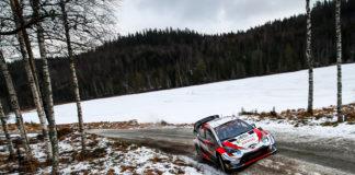 Walisiske Elfyn Evans hos Toyota vant årets vinterløp i rally-VM. (Foto: Toyota)