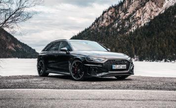 Her er en Audi RS 4 med 530 hestekrefter. (Fotos: ABT)