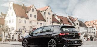 ABT har kastet seg over Volkswagen Golf 8, og slik ser en senket utgave ut. (Fotos: ABT)