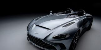 Her er en ny og meget eksklusiv modell fra Aston Martin, V12 Speedster. (Alle foto: Aston Martin)