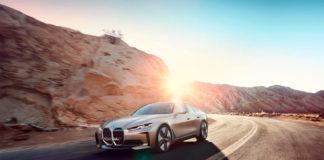Hvordan høres elbilen BMW i4 ut? Her får du svaret. (Alle foto: BMW)