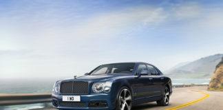 Man skulle ikke tro at en Bentley Mulsanne lar seg stoppe av noe, men nå er det knekt av SUV-modellene. (Alle foto: Bentley)