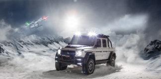Trenger du en pickup som garantert tar deg til vinterhytta? Her er den. (Alle foto: Brabus)