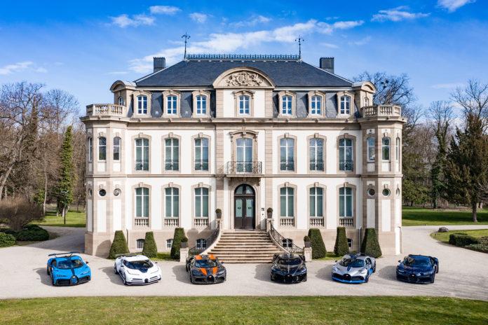 Bugatti-familien er noe helt for seg selv, for sjekk disse seks medlemmene. (Fotos: Bugatti)