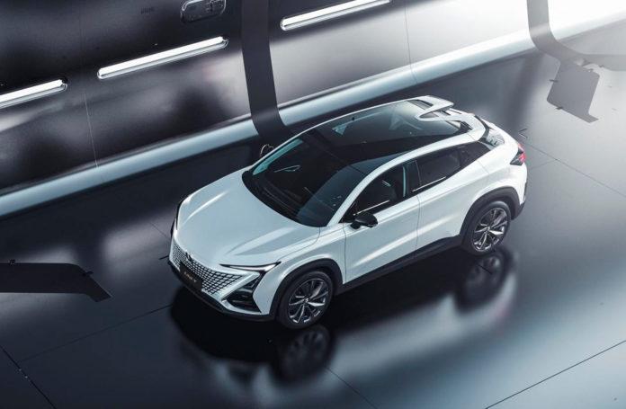 Dette er ikke en ny europeisk modell, men faktisk en bil fra Kina. (Alle foto: Changan)