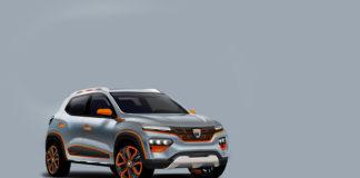 Dacia viser nå fram en svært så kompakt elektrisk SUV. (Alle foto: Dacia)