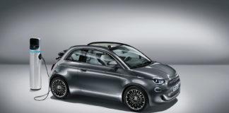 Her er Fiat 500 EV, en elbilmodell av den tidløse klassikeren. (Alle foto: Fiat)