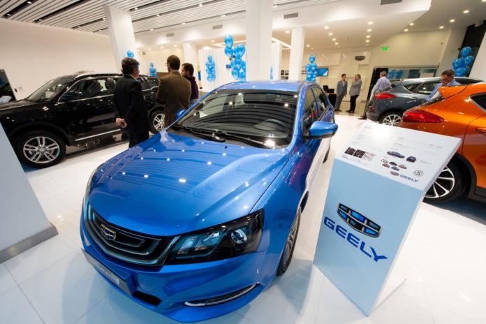 Geely Automobile advarer mot tøffe tider i kinesisk bilbransje. (Foto: Geely)