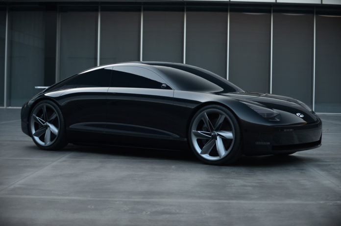 Hyundai har en profeti om hvordan bilene blir i framtiden, og slik ser de ut. (Alle foto: Hyundai)