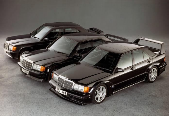 Det er ikke rart at den nærmeste versjonen av Mercedes 190 E skapte oppsikt. (Alle foto: Mercdedes)