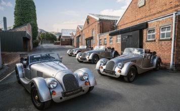 101 år gamle Morgan kan skryte av å ha en 70 år gammel modell, nemlig Plus 4. Den hedres nå med en spesialversjon som er kalt Plus 4 70th Anniversary Edition. (Fotos: Morgan)