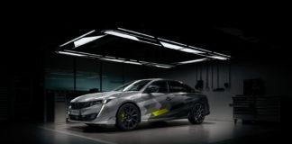 Peugeot har vist bilder av en produksjonsklar Sport Engineered 508. (Alle foto: Puegot)