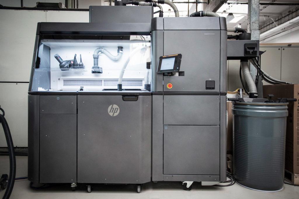 3D-printeren.