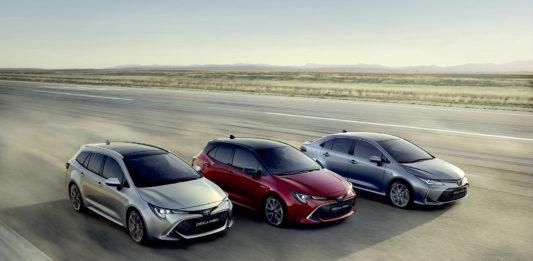 Toyota Corolla er fortsatt dronningen i bilverden. (Foto: Toyota)