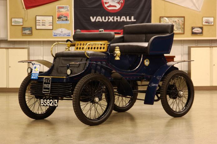 Vauxhall startet med bilproduksjon i 1903. (Fotos: Vauxhall)
