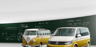 Volkswagen har produsert Transporter i 70 år. (Fotos: VW)
