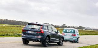 Det er avdekket en alvorlig feil med nødbremse-systemet til flere Volvo-modeller. (Foto: FDM)