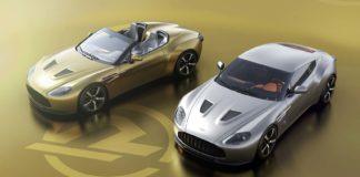 Sjekk disse to lekre Aston Martin Vantage V12 Zagato-versjonene. (Fotos: R-Reforged)