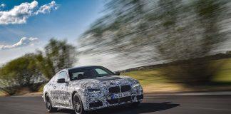 Snart er den her, BMW 4 Coupé. (Fotos: BMW)