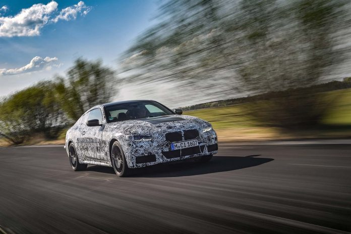 Snart er den her, BMW 4 Coupé. (Fotos: BMW)