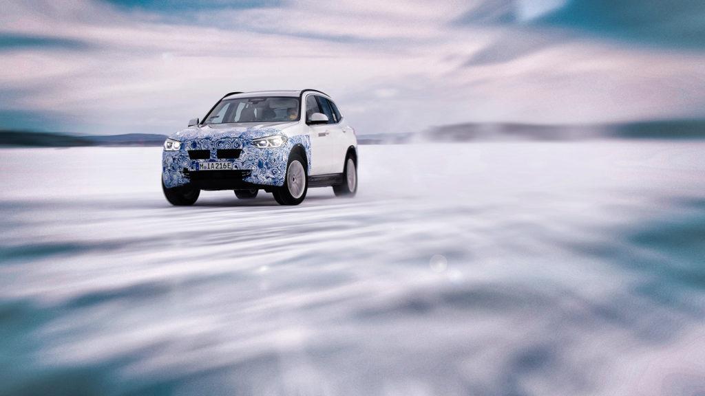 BMW iX3. (Foto: BMW)